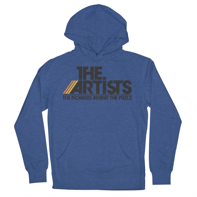 Artists Logo Blip Blip Women's Pullover Hoody by The Artists