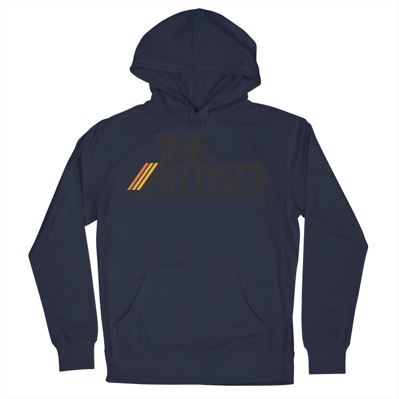 Artists Logo Blip Blip Men's Pullover Hoody by The Artists