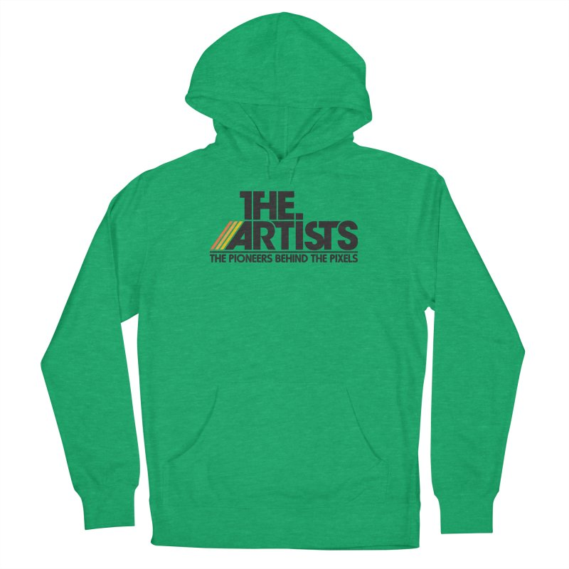 Artists Logo Blip Blip Women's French Terry Pullover Hoody by The Artists