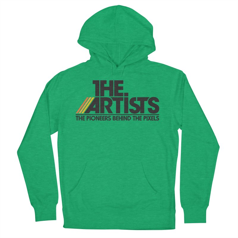 Artists Logo Blip Blip Men's French Terry Pullover Hoody by The Artists