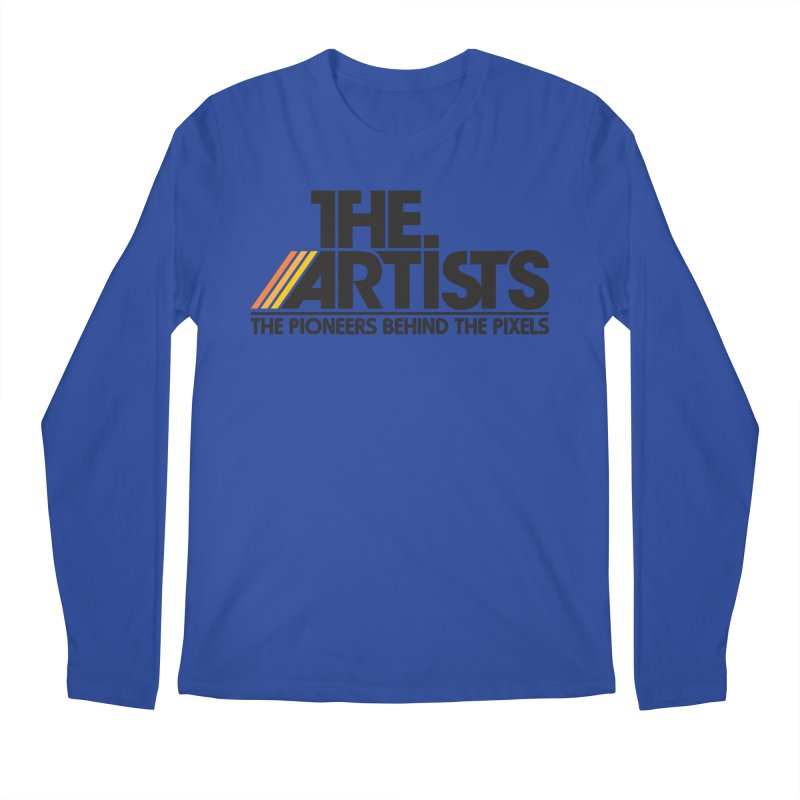 Artists Logo Blip Blip Men's Regular Longsleeve T-Shirt by The Artists