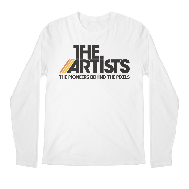 Artists Logo Blip Blip Men's Regular Longsleeve T-Shirt by The Artists