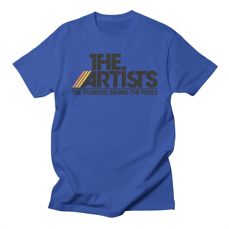 Artists Logo Blip Blip Men's Regular T-Shirt by The Artists