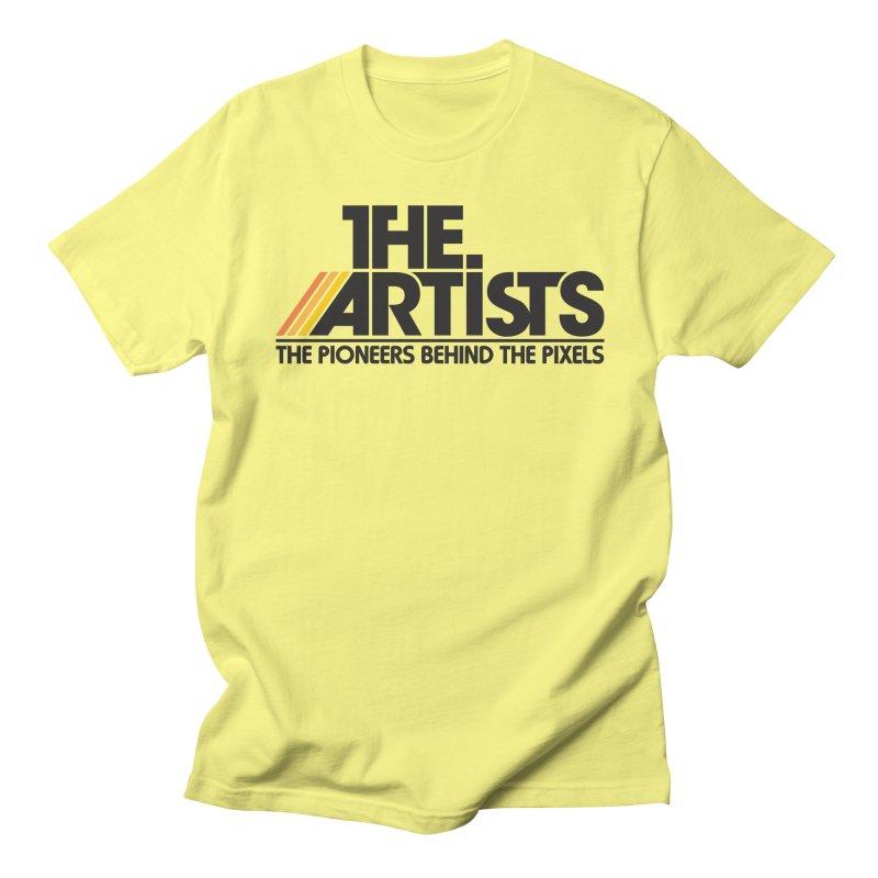 Artists Logo Blip Blip Men's Regular T-Shirt by The Artists