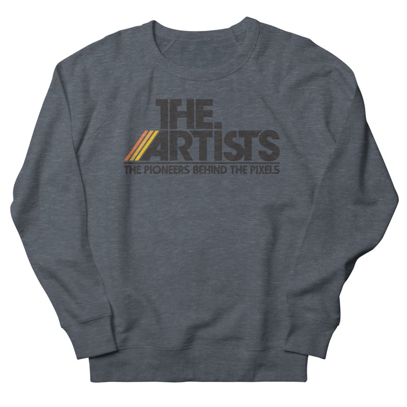 Artists Logo Blip Blip Men's French Terry Sweatshirt by The Artists