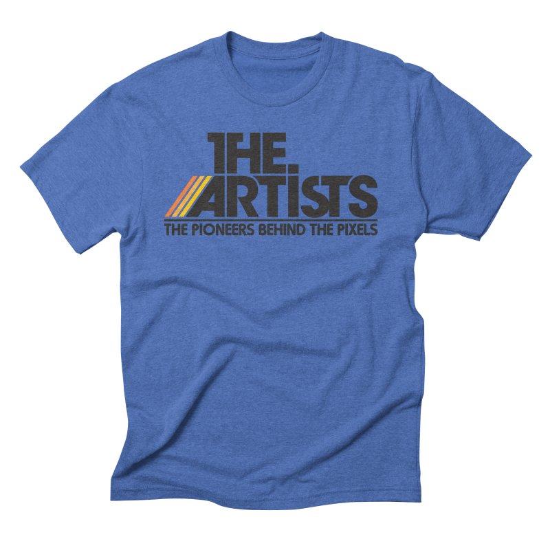 Artists Logo Blip Blip Men's T-Shirt by The Artists
