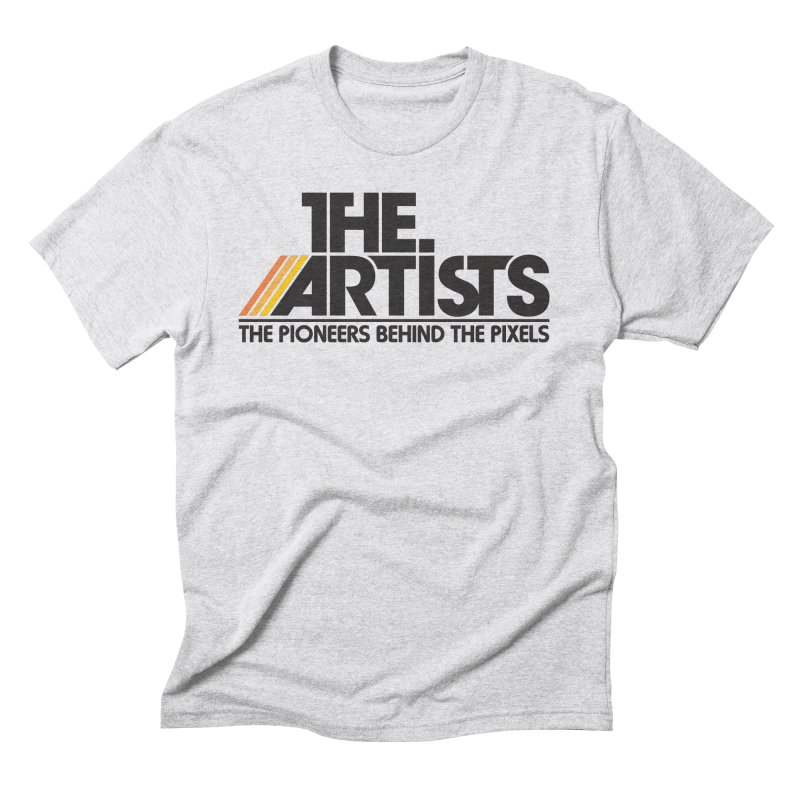 Artists Logo Blip Blip Men's Triblend T-Shirt by The Artists