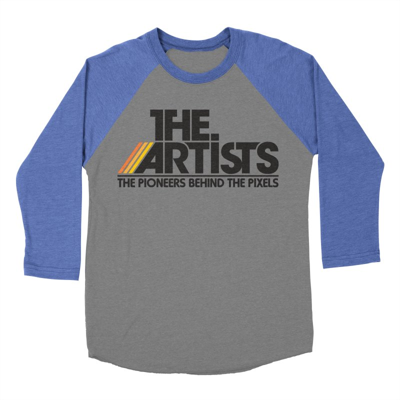 Artists Logo Blip Blip Women's Baseball Triblend Longsleeve T-Shirt by The Artists