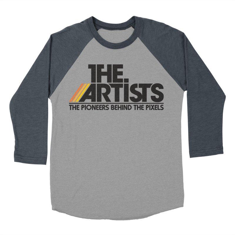 Artists Logo Blip Blip Women's Baseball Triblend Longsleeve T-Shirt by The Artists