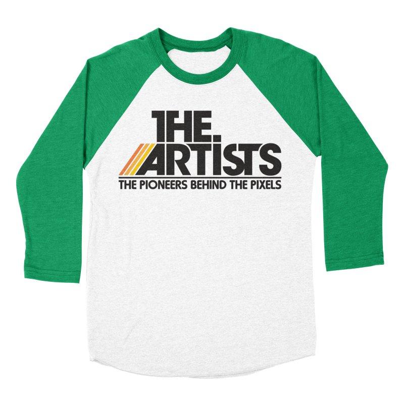 Artists Logo Blip Blip Men's Baseball Triblend Longsleeve T-Shirt by The Artists