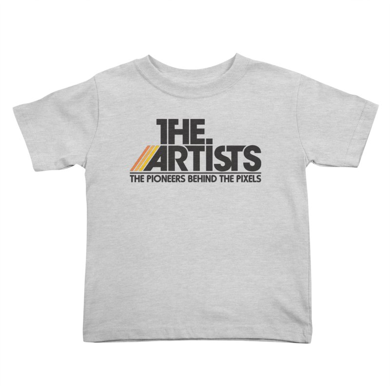 Artists Logo Blip Blip Kids Toddler T-Shirt by The Artists