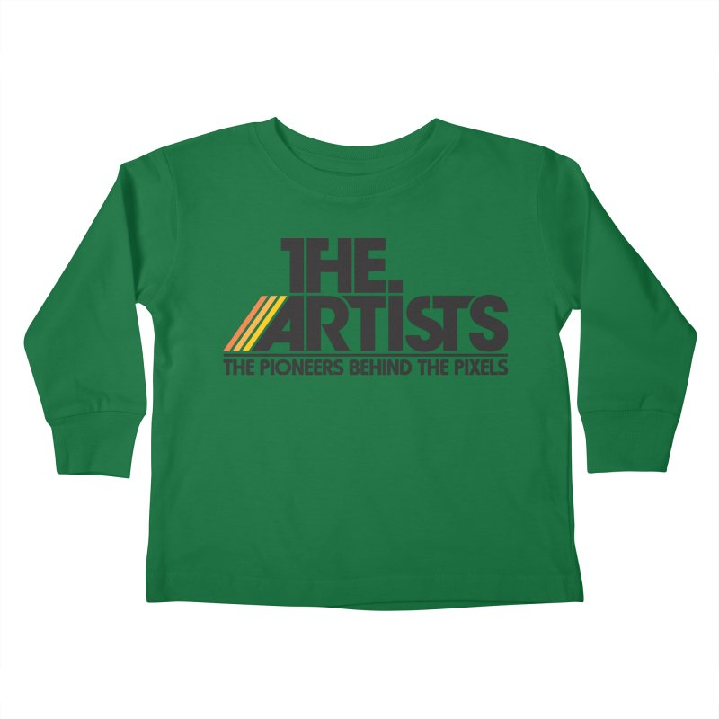 Artists Logo Blip Blip Kids Toddler Longsleeve T-Shirt by The Artists