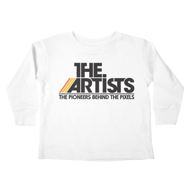 Artists Logo Blip Blip Kids Toddler Longsleeve T-Shirt by The Artists