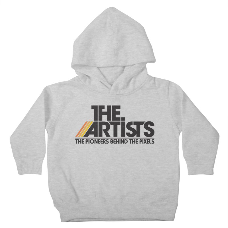 Artists Logo Blip Blip Kids Toddler Pullover Hoody by The Artists