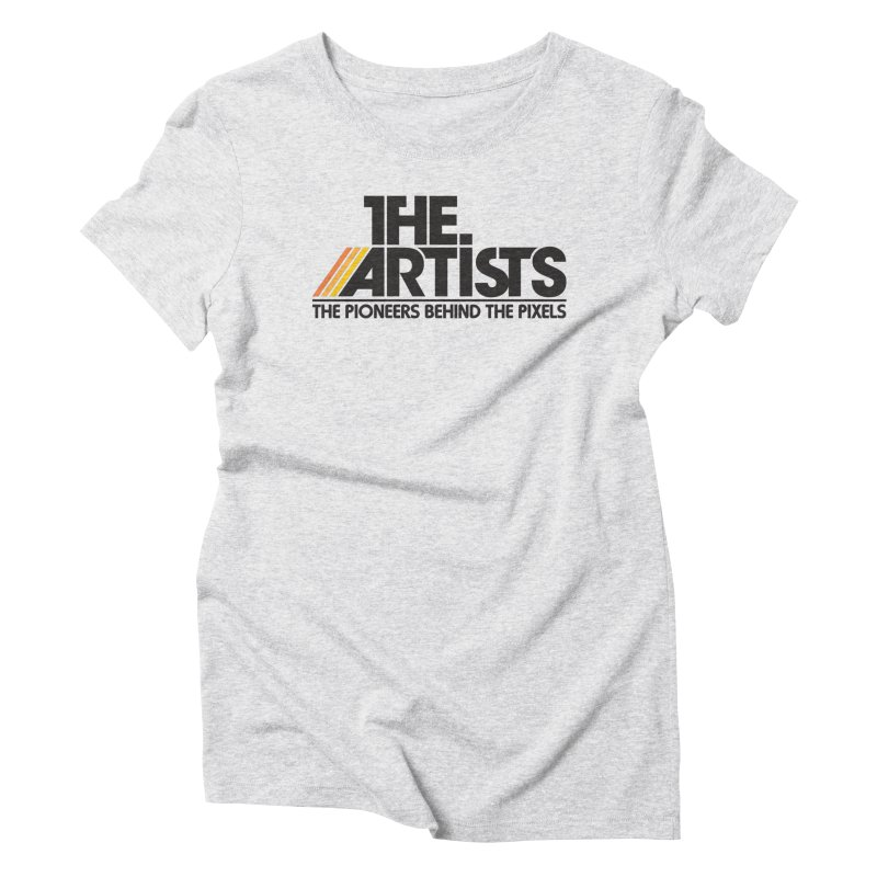 Artists Logo Blip Blip Women's T-Shirt by The Artists