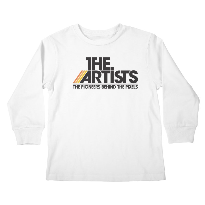 Artists Logo Blip Blip Kids Longsleeve T-Shirt by The Artists