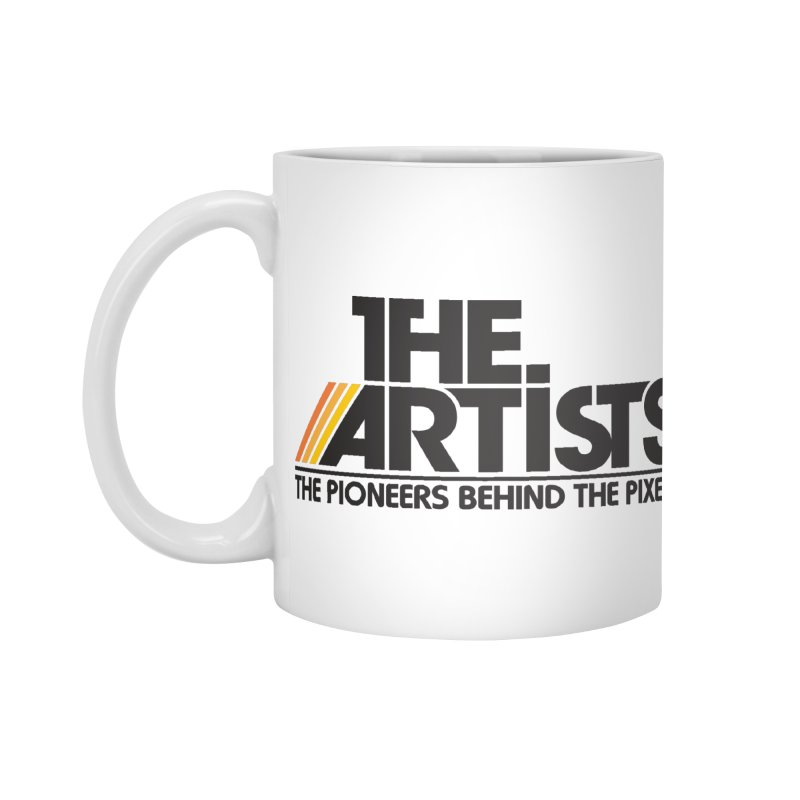 Artists Logo Blip Blip in Standard Mug White by The Artists