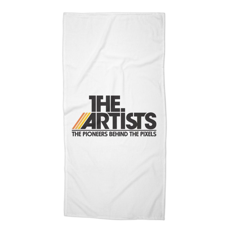 Artists Logo Blip Blip Accessories Beach Towel by The Artists