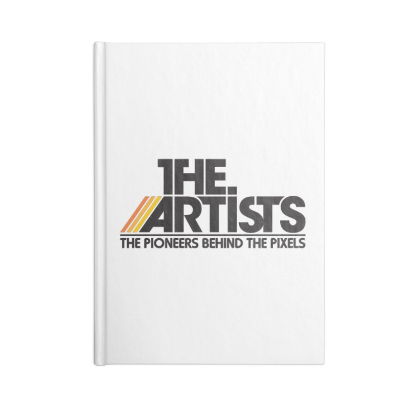 Artists Logo Blip Blip Accessories Lined Journal Notebook by The Artists
