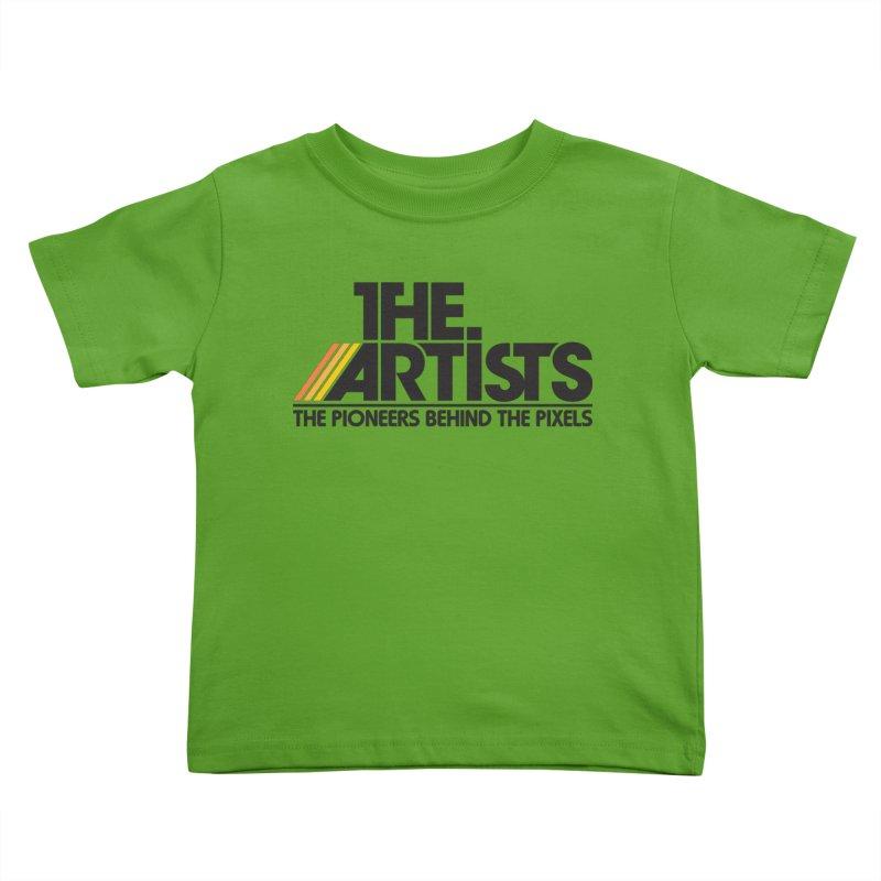 Artists Logo Blip Blip Kids Toddler T-Shirt by The Artists