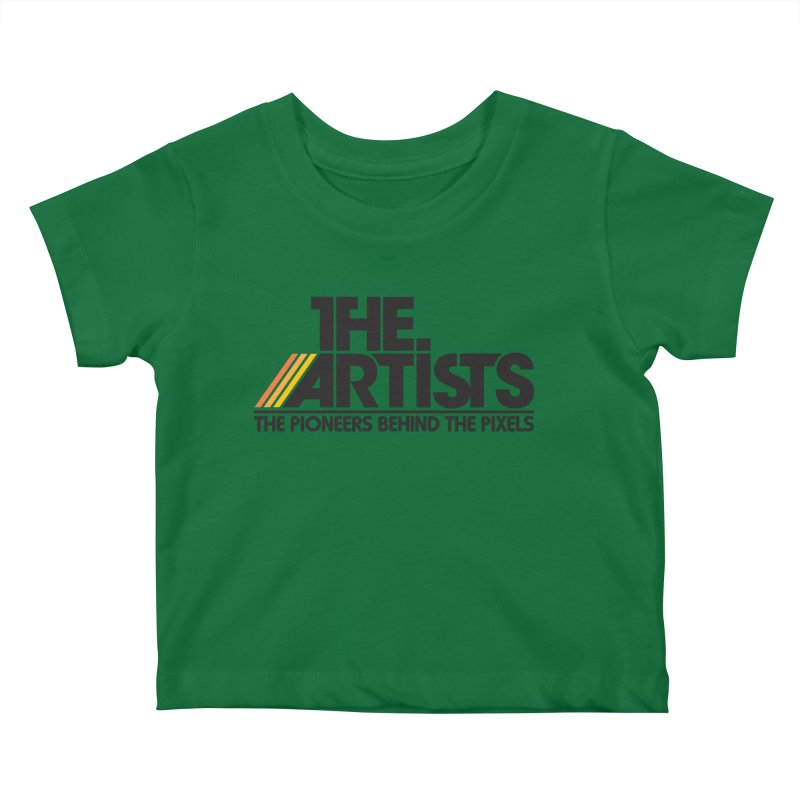 Artists Logo Blip Blip Kids Baby T-Shirt by The Artists