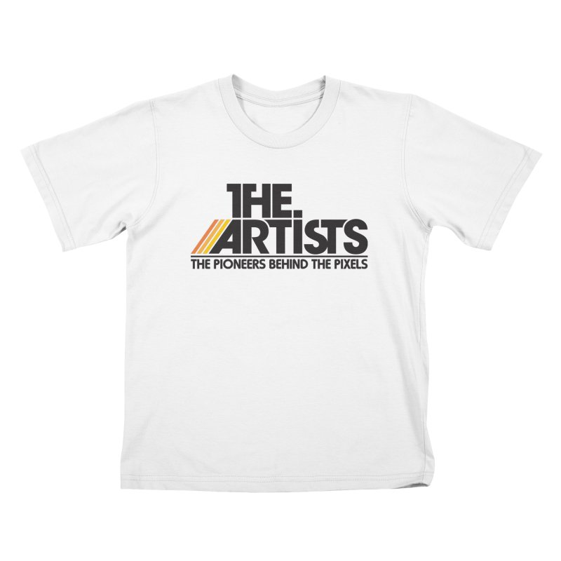 Artists Logo Blip Blip Kids T-Shirt by The Artists