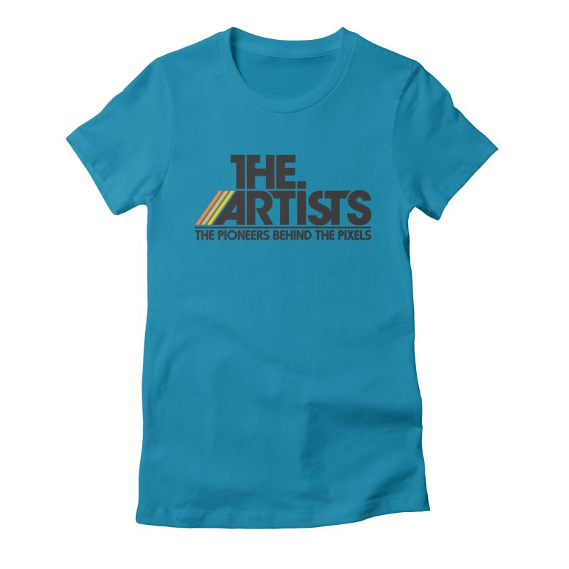 Artists Logo Blip Blip Women's T-Shirt by The Artists