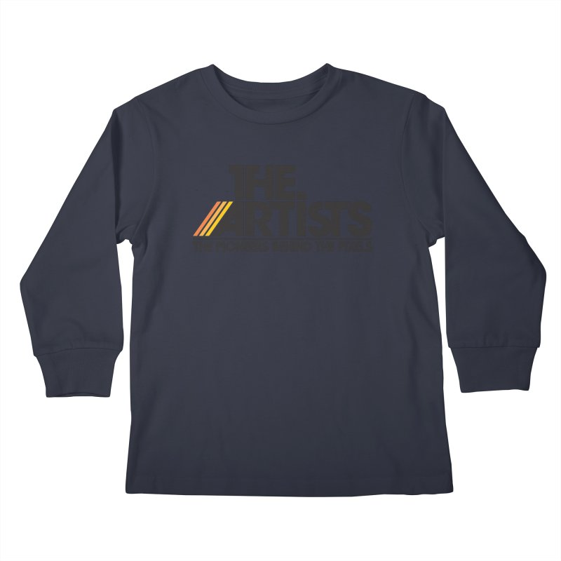 Artists Logo Blip Blip Kids Longsleeve T-Shirt by The Artists