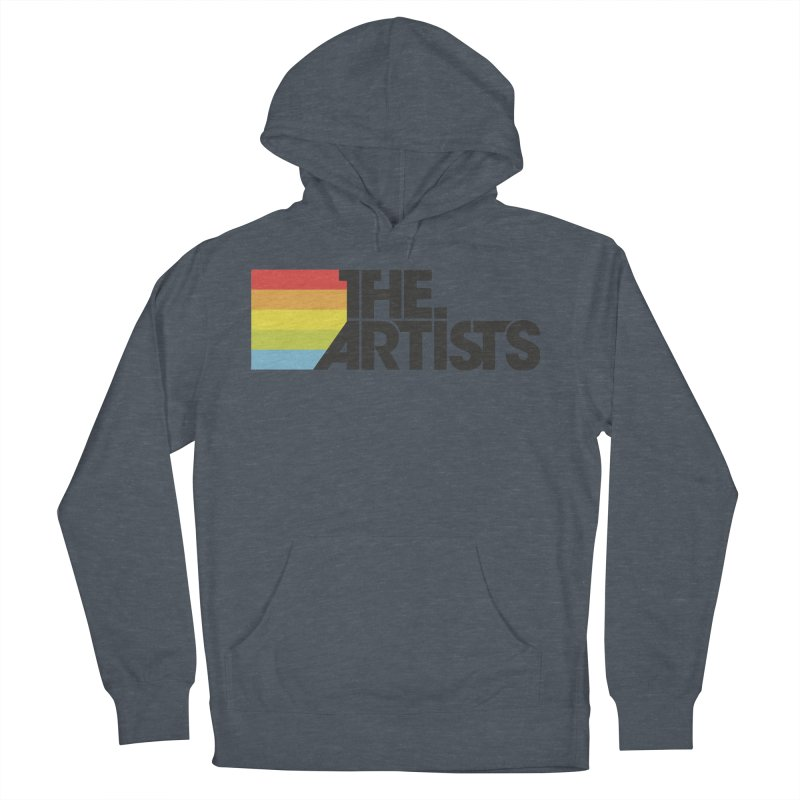 Artists Logo Active Men's French Terry Pullover Hoody by The Artists