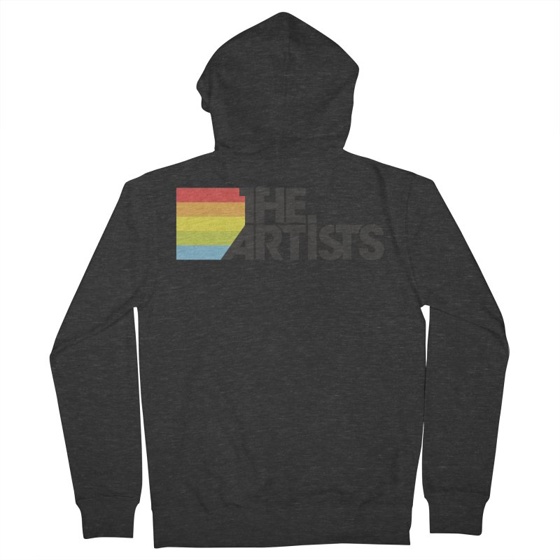 Artists Logo Active Men's French Terry Zip-Up Hoody by The Artists
