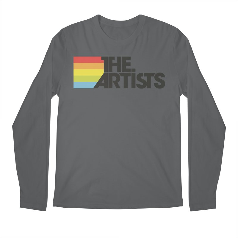 Artists Logo Active Men's Regular Longsleeve T-Shirt by The Artists