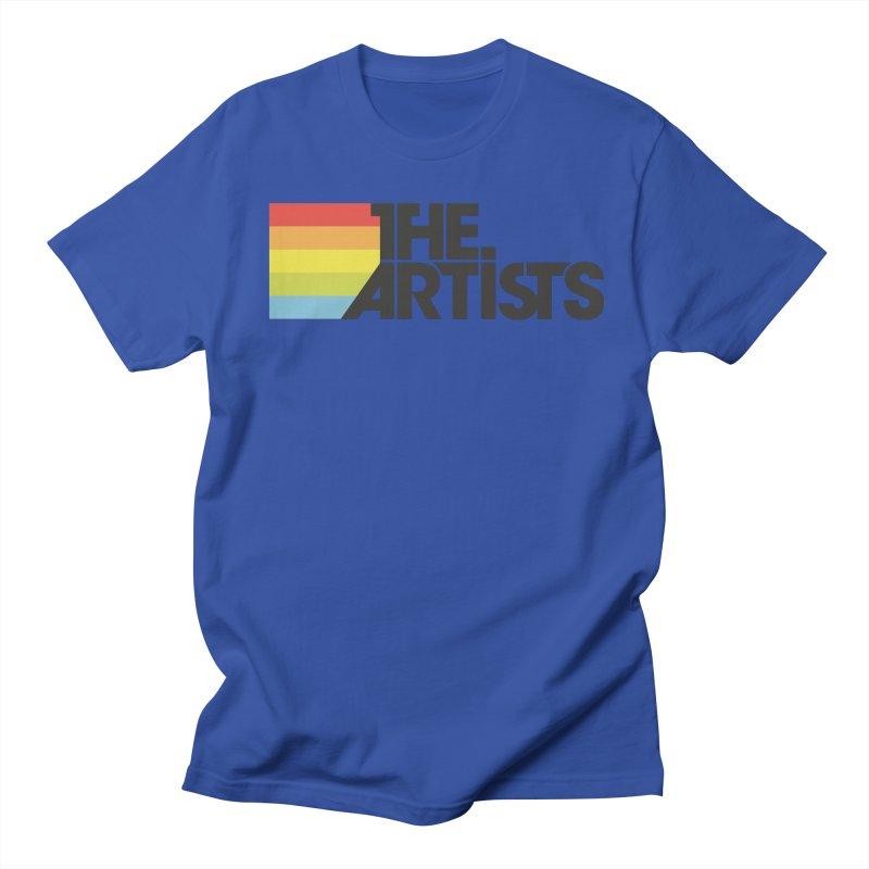 Artists Logo Active Men's Regular T-Shirt by The Artists