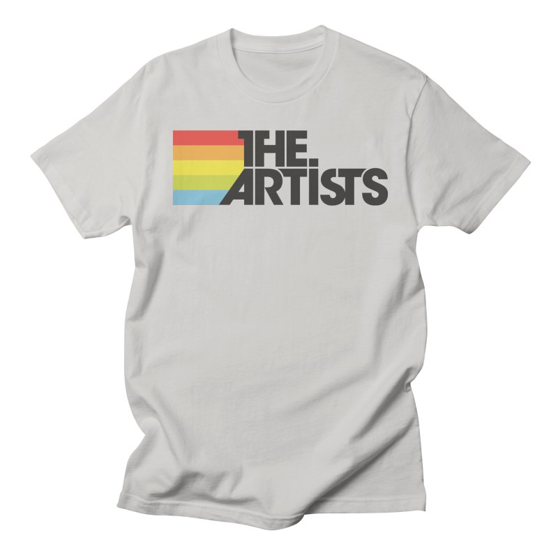 Artists Logo Active Men's Regular T-Shirt by The Artists