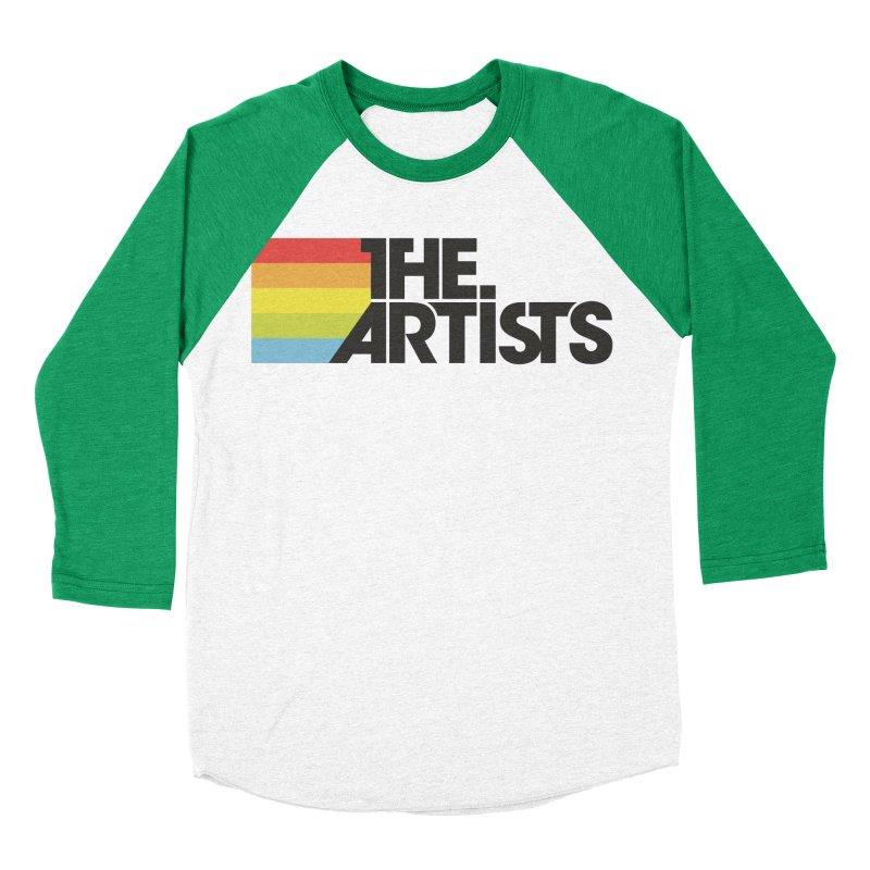 Artists Logo Active Women's Baseball Triblend Longsleeve T-Shirt by The Artists