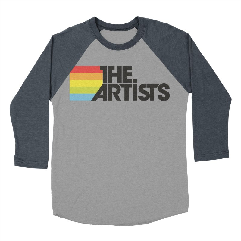 Artists Logo Active Women's Baseball Triblend Longsleeve T-Shirt by The Artists