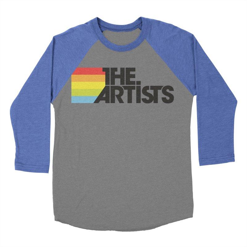 Artists Logo Active Men's Baseball Triblend Longsleeve T-Shirt by The Artists