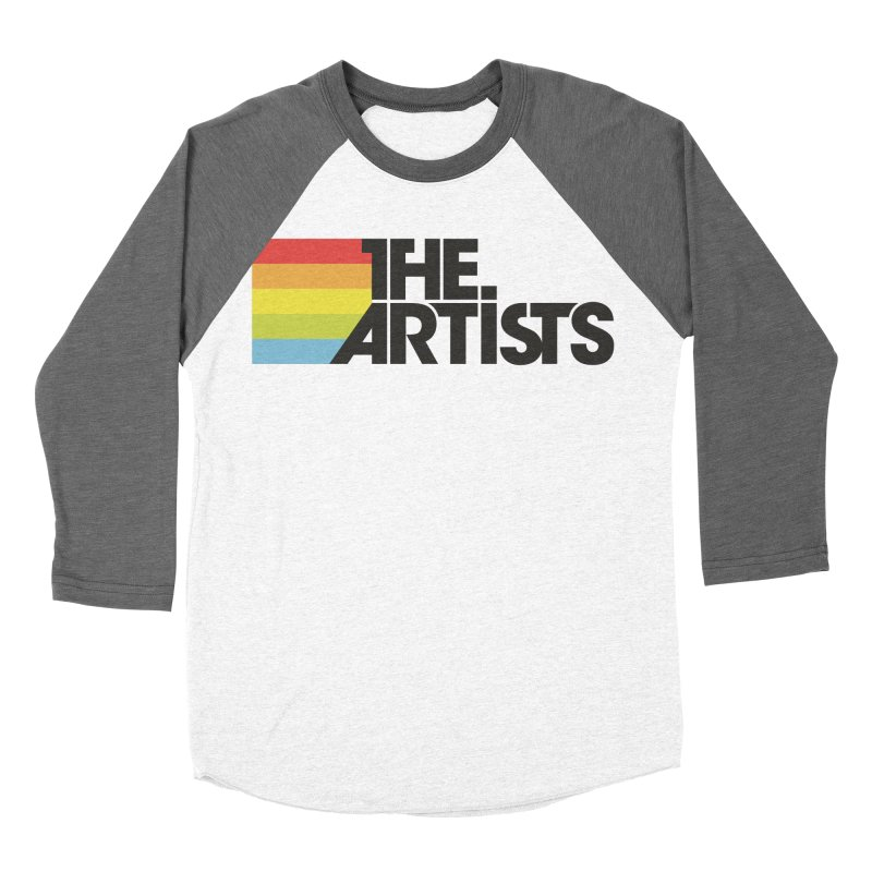 Artists Logo Active Men's Baseball Triblend Longsleeve T-Shirt by The Artists