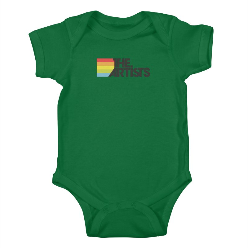 Artists Logo Active Kids Baby Bodysuit by The Artists