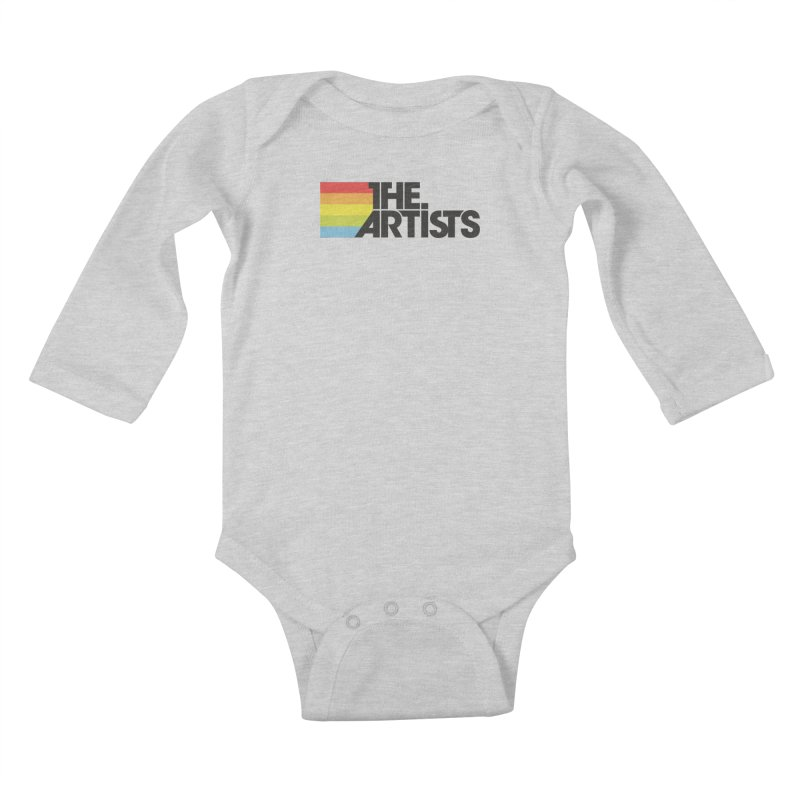 Artists Logo Active Kids Baby Longsleeve Bodysuit by The Artists