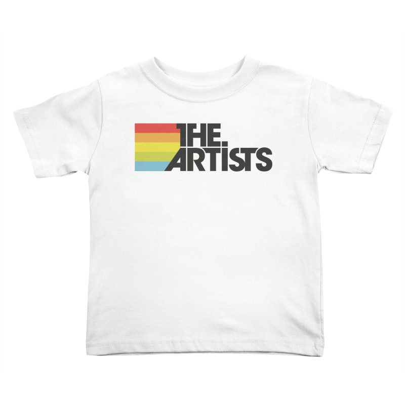 Artists Logo Active Kids Toddler T-Shirt by The Artists