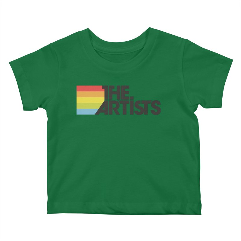 Artists Logo Active Kids Baby T-Shirt by The Artists
