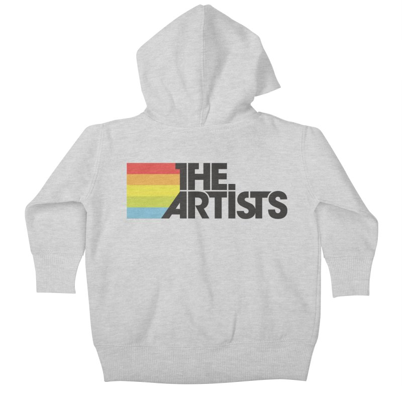 Artists Logo Active Kids Baby Zip-Up Hoody by The Artists