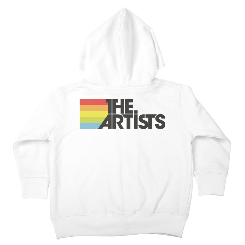 Artists Logo Active Kids Toddler Zip-Up Hoody by The Artists