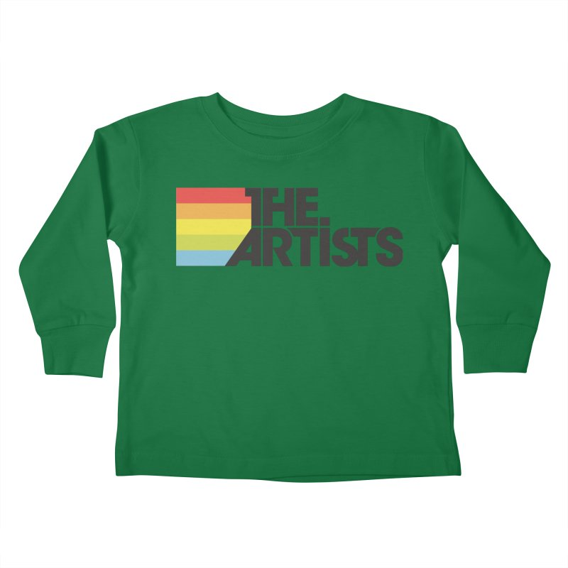 Artists Logo Active Kids Toddler Longsleeve T-Shirt by The Artists