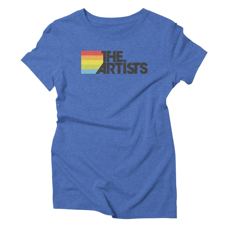 Artists Logo Active Women's Triblend T-Shirt by The Artists