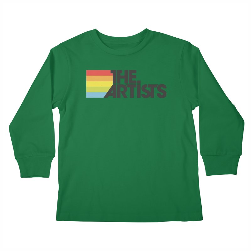 Artists Logo Active Kids Longsleeve T-Shirt by The Artists
