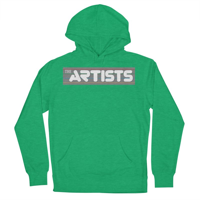 Artists Logo Info Women's French Terry Pullover Hoody by The Artists