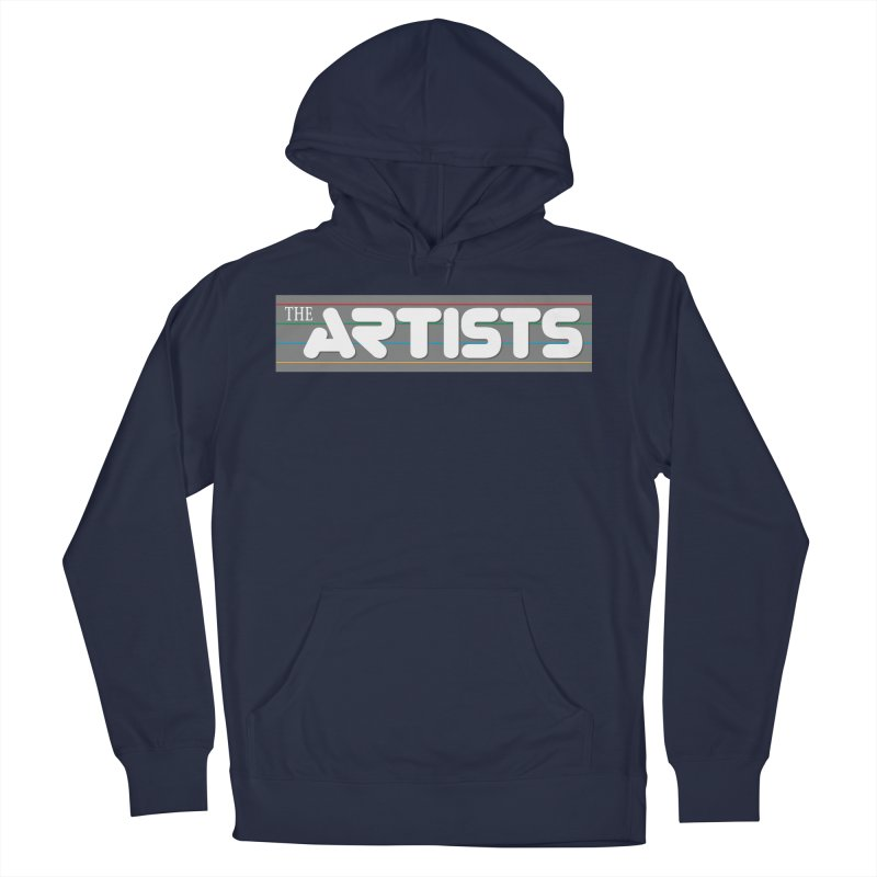 Artists Logo Info Men's French Terry Pullover Hoody by The Artists