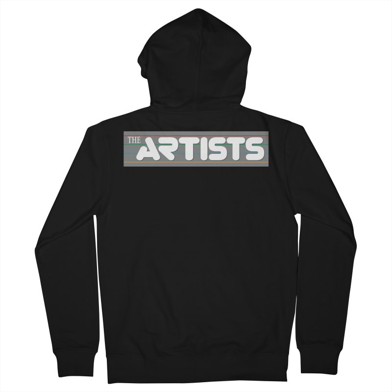 Artists Logo Info Women's French Terry Zip-Up Hoody by The Artists