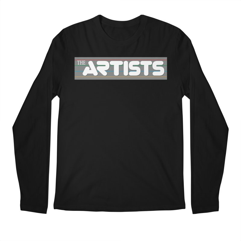 Artists Logo Info Men's Regular Longsleeve T-Shirt by The Artists